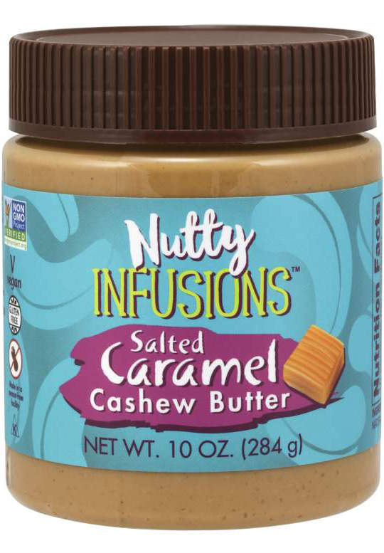 NOW: Nutty Infusions™ Cashew Butter, Salted Caramel 10oz