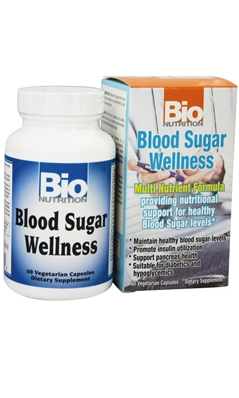 Blood Sugar Wellness, 60 capvegi