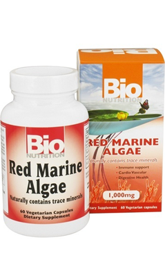 BIO NUTRITION: Red Marine Algae 60 capvegi