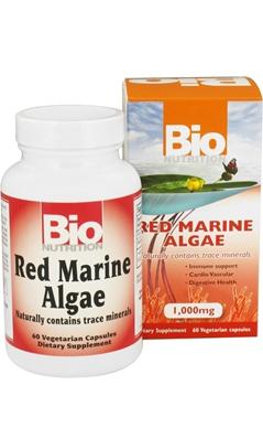 BIO NUTRITION: Red Marine Algae 60 capvegi