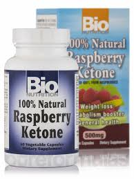 100% Natural Raspberry Ketone 60 VCAPS from BIO NUTRITION