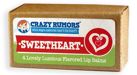 CRAZY RUMORS: Sweetheart Lip Balm Gift Set Pack 4 pc