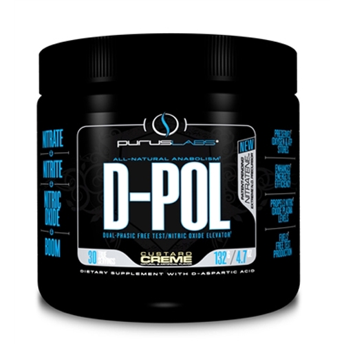 Purus Labs D Pol Protein King: D-POL PWDR CUSTARD CREME 30/SR 30 Servings, $30.08ea From