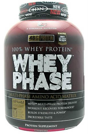 WHEY PHASE STRAWBERRY