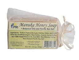 Manuka Honey & Sea Salt Lye Soap