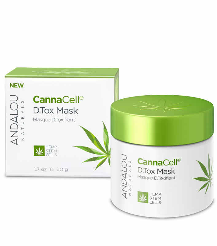 ANDALOU NATURALS: CannaCell D.Tox Mask 1.7 oz
