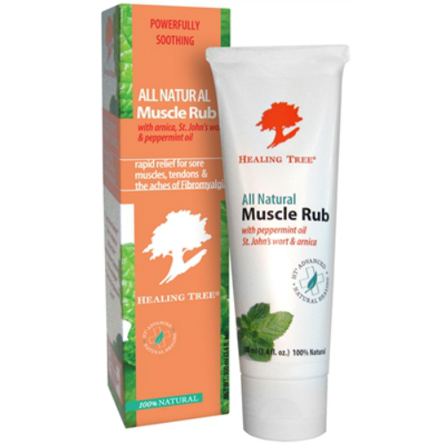 HEALING TREE: All Natural Muscle Rub 100 ml