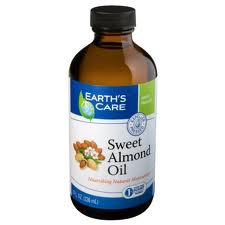 EARTH'S CARE: Sweet Almond Oil 100 Percent Pure and Natural 8 oz