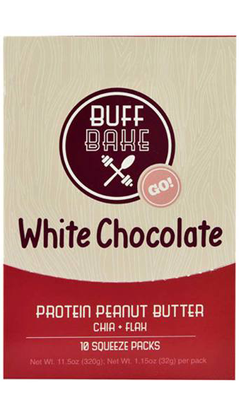 BUFF BAKE WHITE CHOCOLATE PEANUT SPREAD