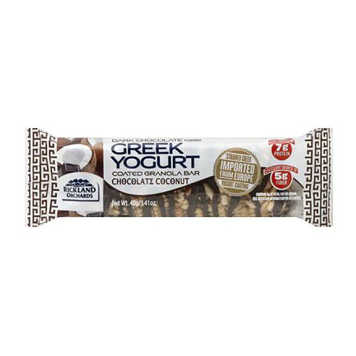 RICKLAND ORCHARDS: GREEK YOGURT BAR COCONUT 12/ 12/pack