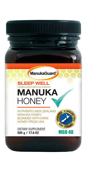 MANUKAGUARD: Manuka Honey Sleepwell MGO 40 17.6 ounce