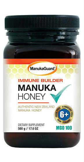 MANUKAGUARD: Immune Builder MGO 100 6Plus Manuka Honey 17.6 ounce