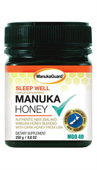 MANUKAGUARD: Manuka Honey Sleepwell MGO 40 8.8 ounce