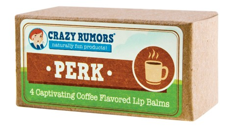 CRAZY RUMORS: Perk Coffee Lip Balm Gift Set 4 pc