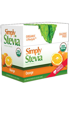 Valencia Orange Stevia Powder