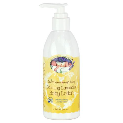 EARTH MAMA ANGEL BABY: Baby Lotion Calming Lavender 8 oz