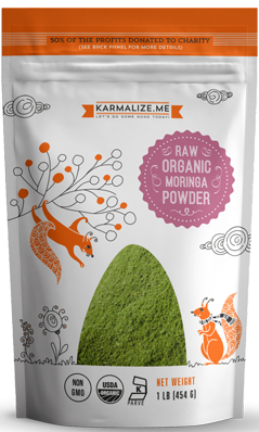 Organic Raw Moringa Leaf Powder