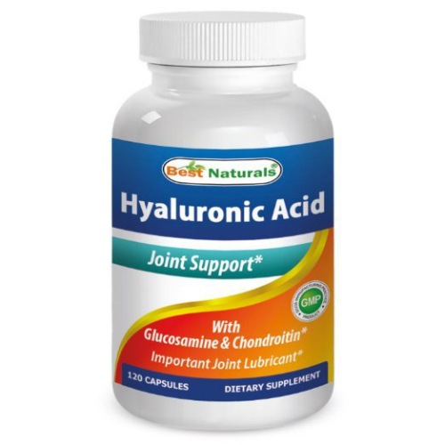 Best Naturals: Hyaluronic Acid 100 mg 120 cap