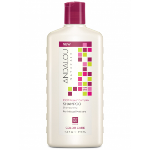 1000 Roses Color Care Shampoo 11.5 oz from ANDALOU NATURALS
