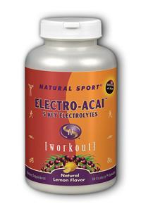 Natural Sport: Electro Acai FizzActive 60 Chewable