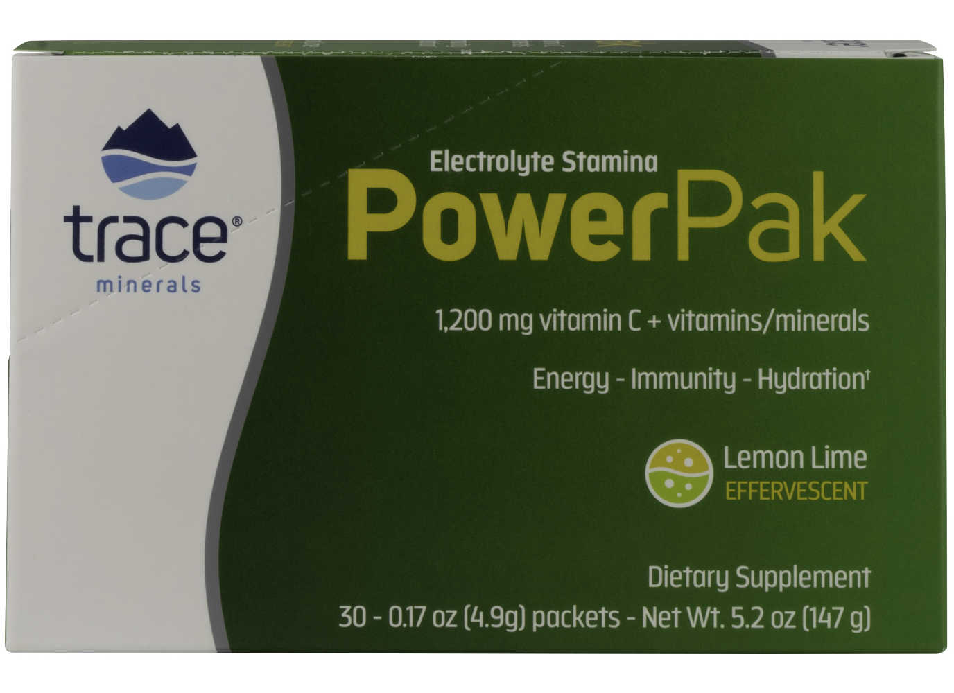 Trace Minerals Research: Electrolyte Stamina Power Pak Lemon Lime 30 packet