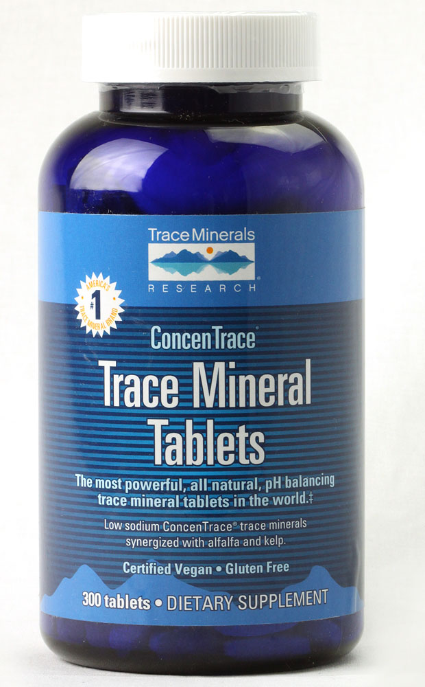 Trace Minerals Research: Trace Mineral Tabs 300 tabs
