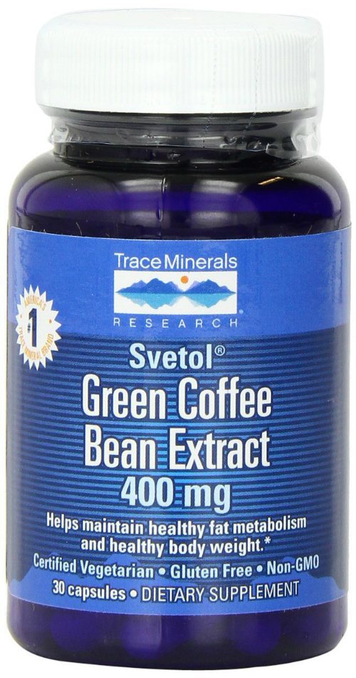 Trace Minerals Research: Svetol® Green Coffee Bean Extract 30 caps