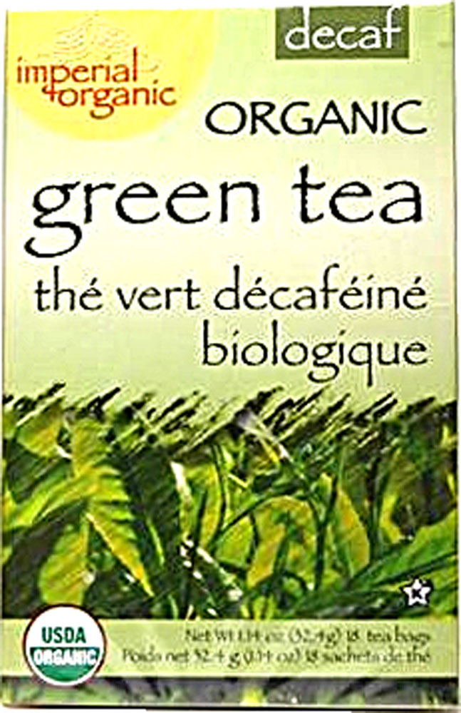 UNCLE LEE'S TEA: Organic Decaffeinate Green Tea 18 bag