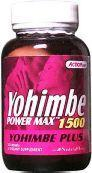 Action Labs: Yohimbe Power Max 1500 (Yohimbe Plus) 30ct