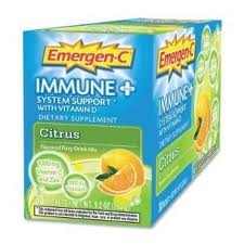 ALACER: Emergen-C Immune System Support with Vitamin D-Citrus 30 pkt