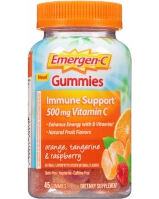 Emergen-C Immune Gummies Orange 45 ct from ALACER