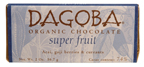 Dagoba Chocolate: Choco bar,dark,acai&gogi 2 OZ