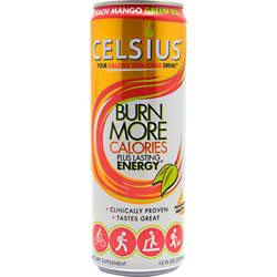 CELSIUS: CELSIUS PEACH MANGO 12 oz/12 cs
