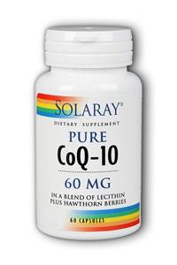 Solaray: CoQ-10 60 mg 60ct 60mg