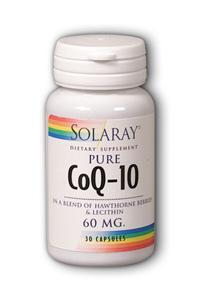 Solaray: CoQ10 30ct 120mg