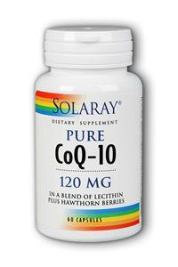 Solaray: CoQ10 120mg 60ct