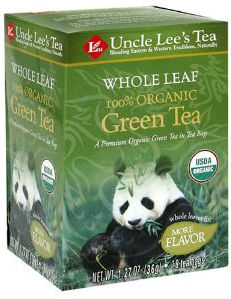Whole Leaf Organic Green Tea 18 Bag 4 42ea From Uncle
