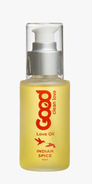 GOOD CLEAN LOVE: Indian Spice Love Oil Pump 50 ml