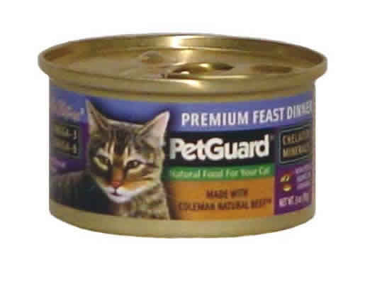 Pet Guard: Cat,premium feast dinner 3 OZ