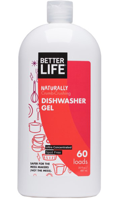 BETTER LIFE: Natural Dishwasher Gel (ultra-concentrated) Automatic Magic 30 oz