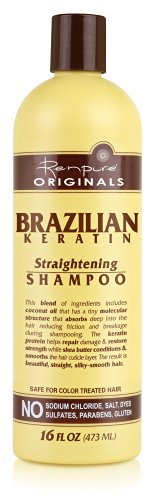 Shampoo Straight Brazilian Keratin 14 Day Straight Treatment