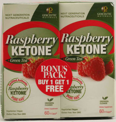 Raspberry Ketone with Green Tea 500mg Bonus Pack