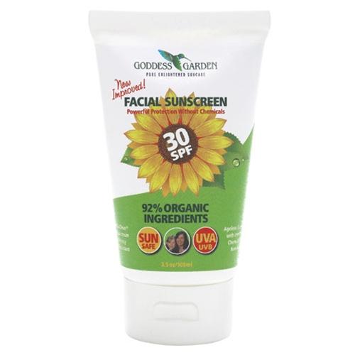 Facial Sunscreen Spf30 3 4 Oz From Goddess Garden
