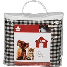 E-CLOTH: Pet Car Interior Protector 1 ct