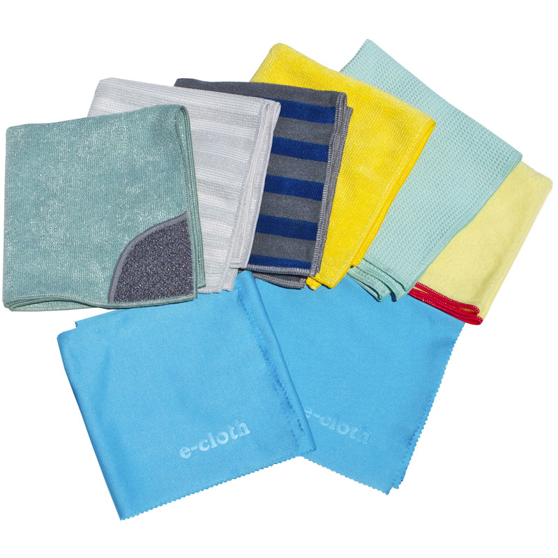 E-CLOTH: Home Cleaning Set 8 pcs