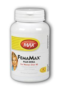 NaturalMax: FemaMax with DHEA 60ct