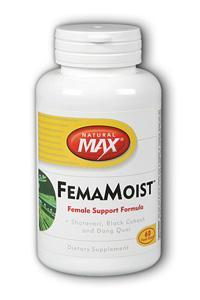 NaturalMax: FemaMoist 60ct