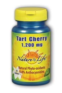Natures life: Tart cherry 1200mg 30 Tablets