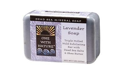 ONE WITH NATURE: Lavender Bar Soap 7 oz