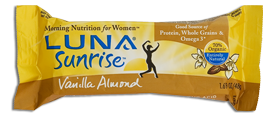 Clif Bar: Luna sunrise,og,van almnd 1.69 OZ